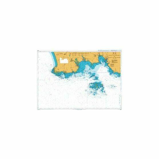 2820 Pointe de Penmarc\'h to Pointe de Trevignon Admiralty Chart