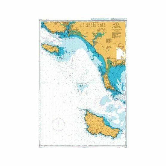 2822 Ile de Groix to Belle Isle Admiralty Chart