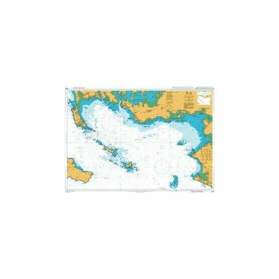 2823 Quiberon to Croisic Admiralty Chart
