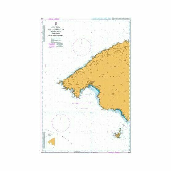 2832 West Mallorca Admiralty Chart