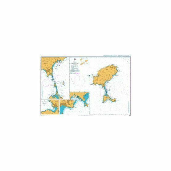 2834 Ibiza and Formentera Admiralty Chart