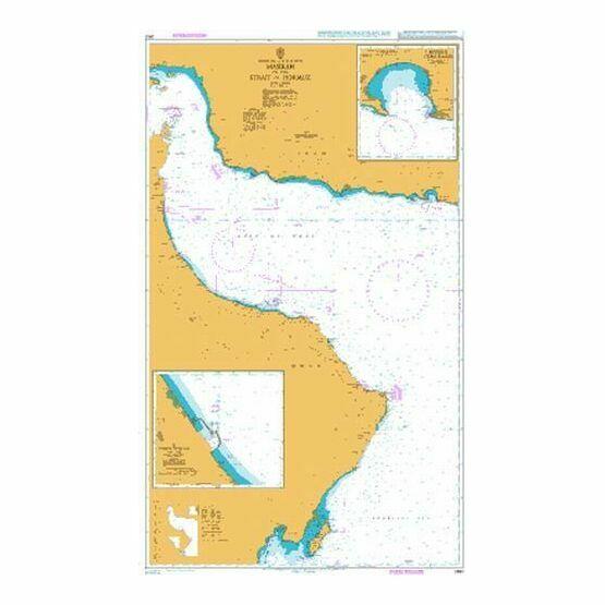 2851 Masirah to the Strait of Hormuz Admiralty Chart