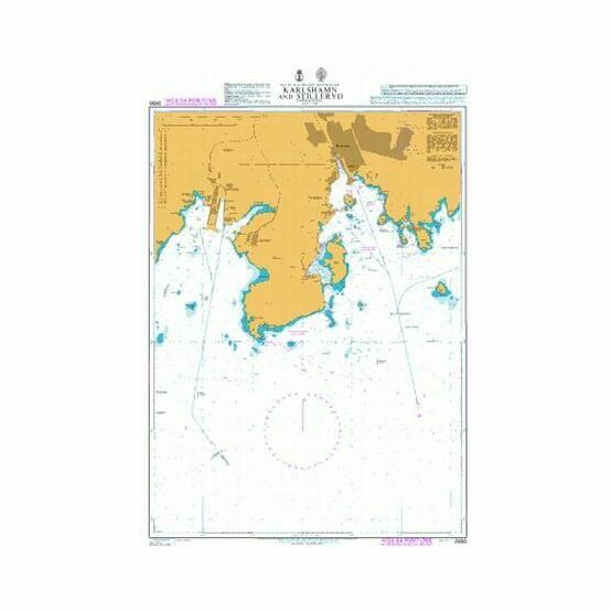 2855 Karlshamn and Stilleryd Admiralty Chart