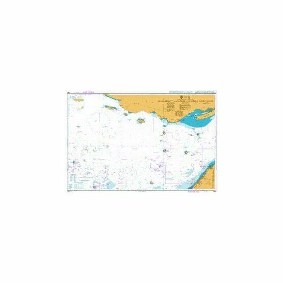2887 Dubai (Dubayy) and Jazireh-ye Qeshm to Jazirat Halul Admiralty Chart