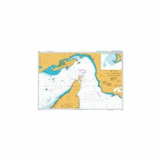 2888 Jask to Dubai (Dubayy) and Jazireh-ye Qeshm Admiralty Chart