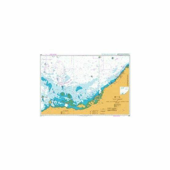 2889 Dubai (Dubayy) to Jabal az Zannah and Jazirat Das Admiralty Chart
