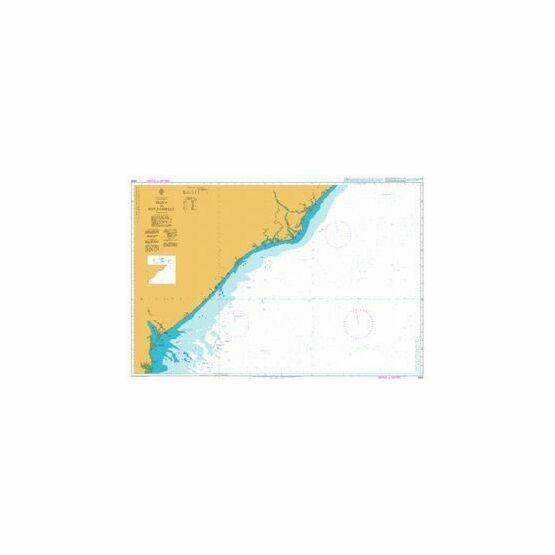 2934 Beira to Rio Zambeze Admiralty Chart
