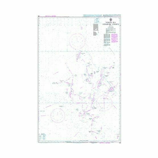 295 North Sea Offshore Charts Sheet 1 Admiralty Chart