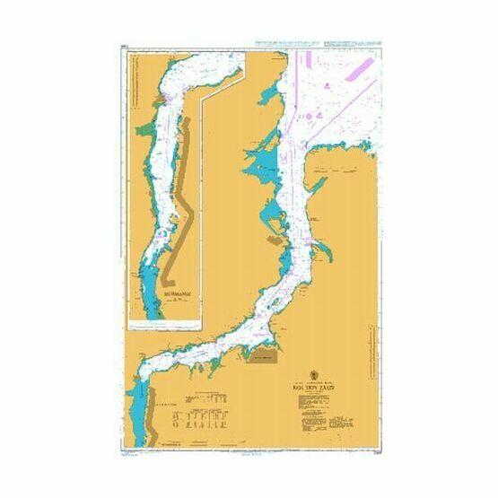 2966 Kol`skiy Zaliv Admiralty Chart