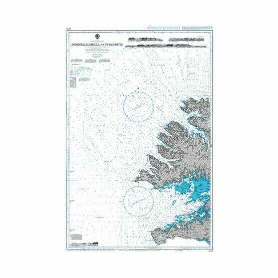 2976 Snaefellsjokull to Straumnes Admiralty Chart