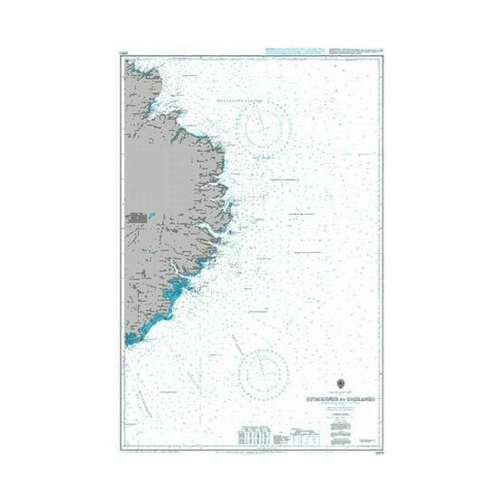 2901 Iceland East Coast Glettinganes to Stokksnes Admiralty Chart
