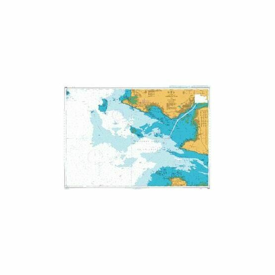 2986 Approaches to the Loire Admiralty Chart