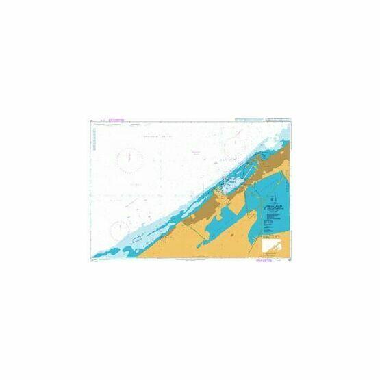 302 Approaches to El Iskandariya (Alexandria) Admiralty Chart