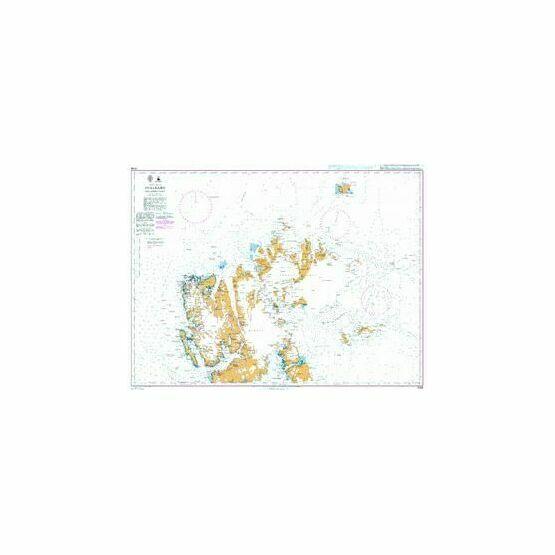 3136 Arctic Ocean, Svalbard, Northern Part Admiralty Chart