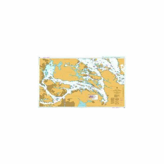 3155 Sandofjarden to Stockholm Admiralty Chart