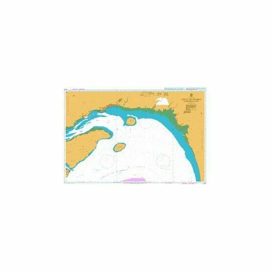 3173 Strait of Hormuz Northern Part Admiralty Chart