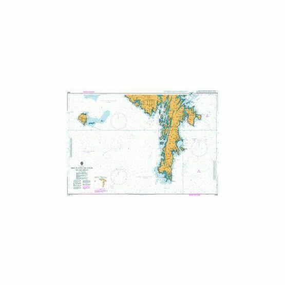 3283 Shetland Islands South Sheet Admiralty Chart