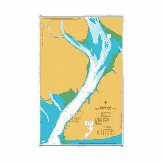 3287 Bonny River Field Point to Ford Point Admiralty Chart