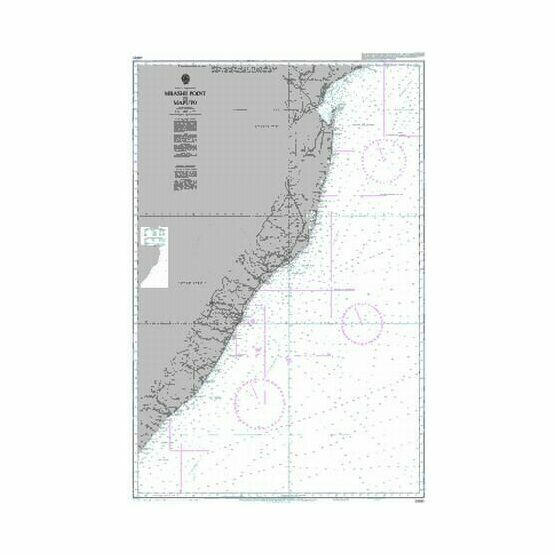 3300 Mbashe Point to Maputo Admiralty Chart