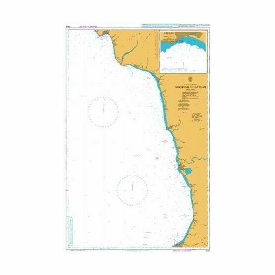3313 Sukhumi to Batumi Admiralty Chart