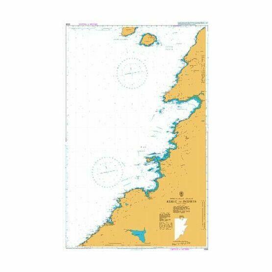 3338 Kilkee to Inisheer Admiralty Chart