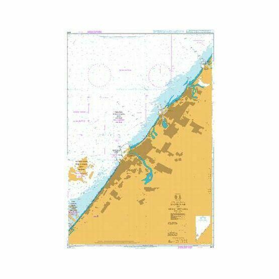 3412 Hamriyah to Mina' Seyaha Admiralty Chart