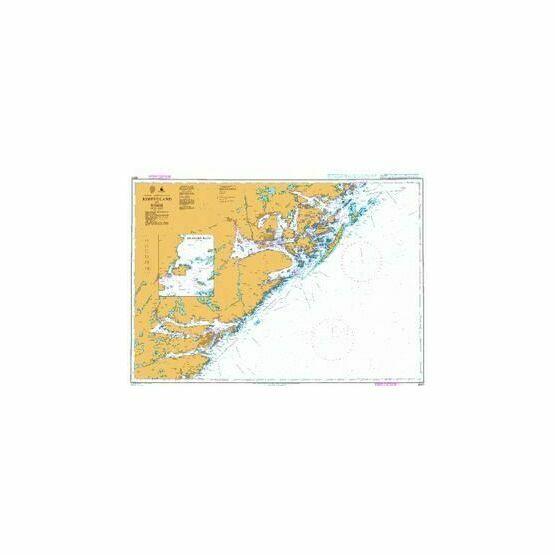3507 Jomfruland to Risor Admiralty Chart