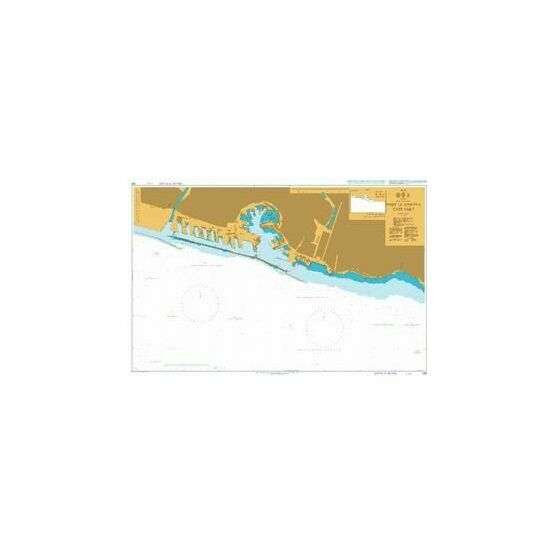 355 Port of Genova - East Part Admiralty Chart