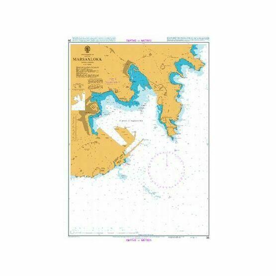 36 Marsaxlokk Admiralty Chart