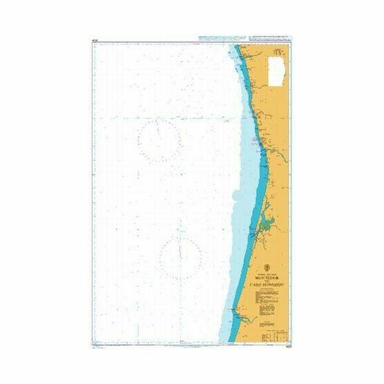 3634 Montedor to Cabo Mondego Admiralty Chart