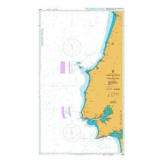 3635 Cabo Mondego to Cabo Espichel Admiralty Chart