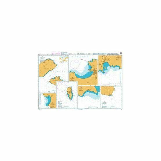 367 Ports in the Arquipelago de Cabo Verde Admiralty Chart