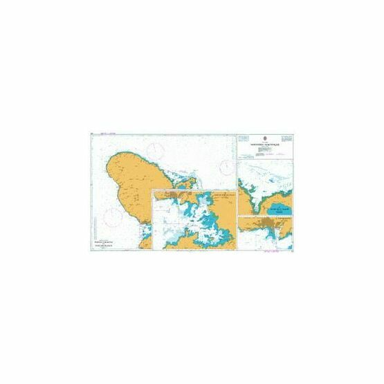 371 Northern Martinique Admiralty Chart