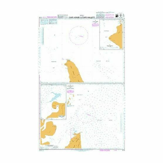 3714 Cape Adare and Cape Hallett Admiralty Chart