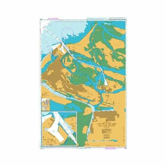 3715 Abu Zaby (Abu Dhabi) and Umm An Nar Admiralty Chart