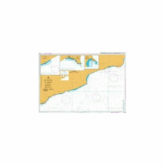 3784 Ra\'s al Kalb to Ra\'s Marbat Admiralty Chart