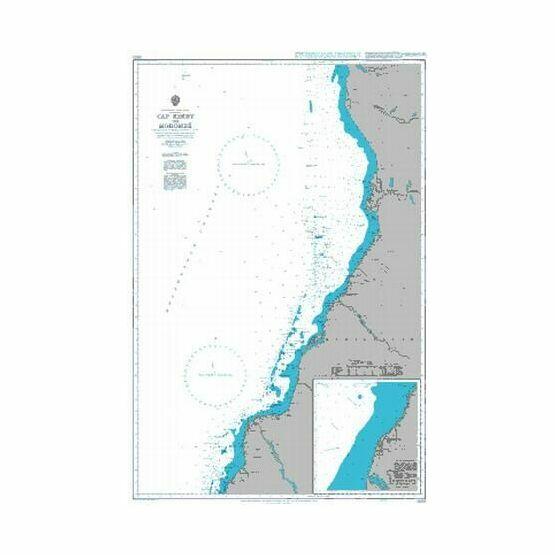3855 Cap Kimby to Morombe Admiralty Chart