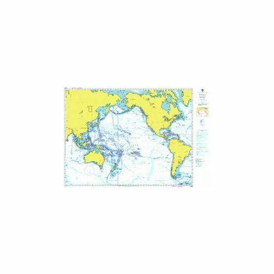 4002 Pacific Ocean - Admiralty Chart