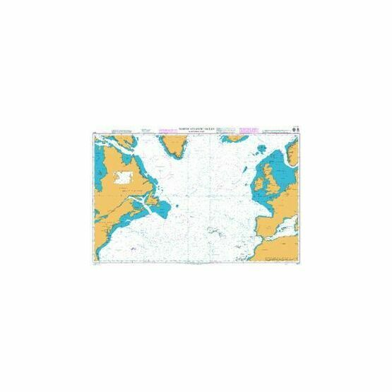 4011 North Atlantic Ocean - Northern Part Admiralty Chart
