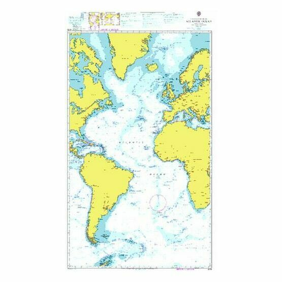 4015 Atlantic Ocean - Admiralty Chart