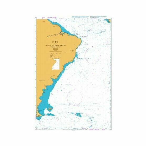 4020 South Atlantic Ocean - Western Portion Admiralty Chart