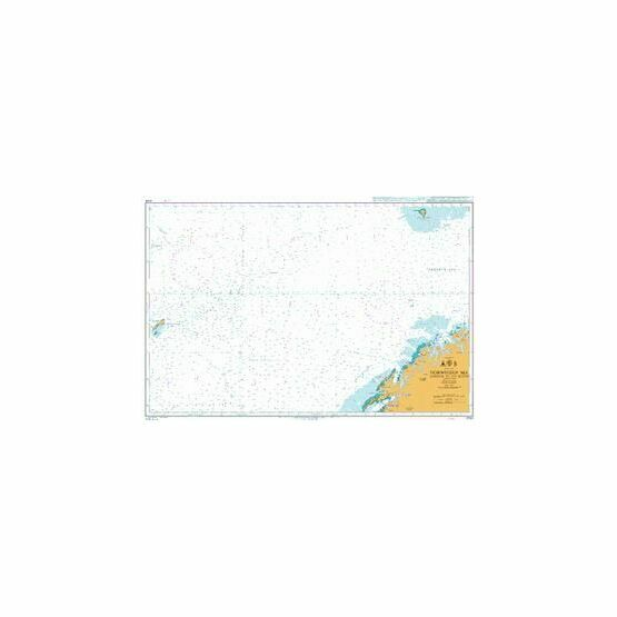 4100 Norwegian SeaNorway to Jan Mayen Admiralty Chart
