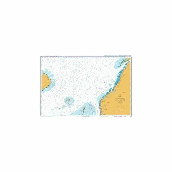 4101 Norwegian Sea Norway to Iceland Admiralty Chart