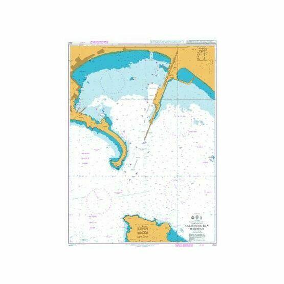 4142 Saldanha Bay harbour Admiralty Chart
