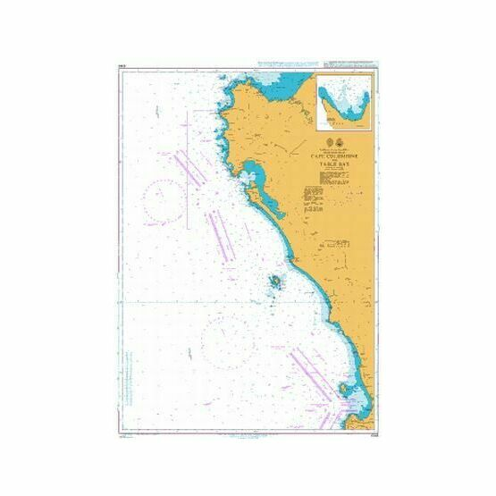 4146 Cape Columbine to Table Bay Admiralty Chart