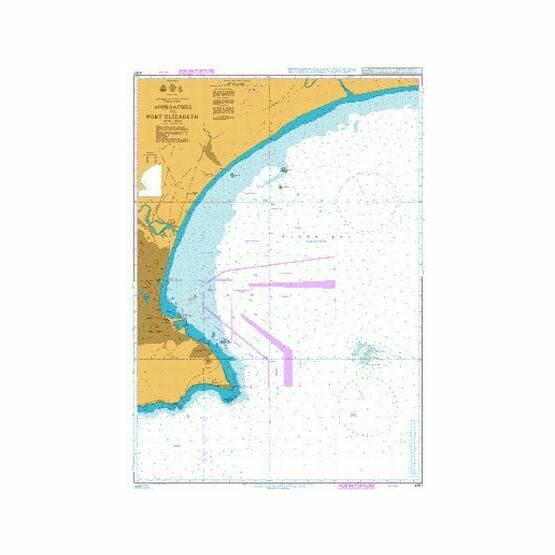 4157 Approaches to Port Elizabeth Admiralty Chart