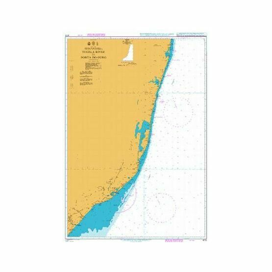 4172 Tugela River to Ponta do Ouro Admiralty Chart