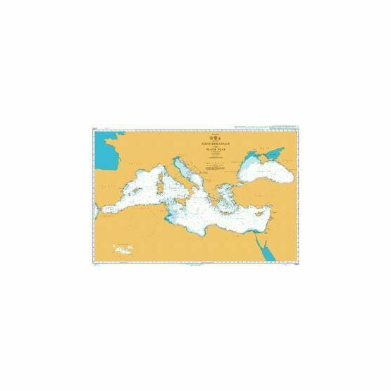 4300 Mediterranean and Black Seas Admiralty Chart