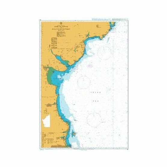 44 Howth to Ardglass Admiralty Chart