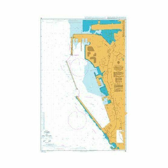 45 Gibraltar Harbour Admiralty Chart